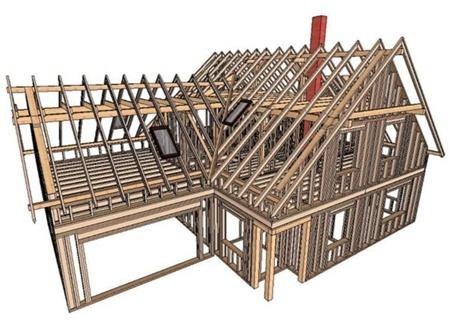 История развития технологии каркасного строительства