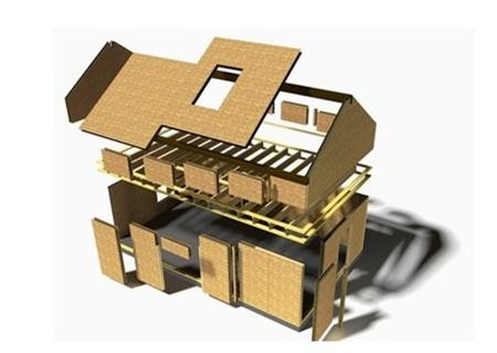 Панельно-каркасные дома, технологии, цены, достоинства