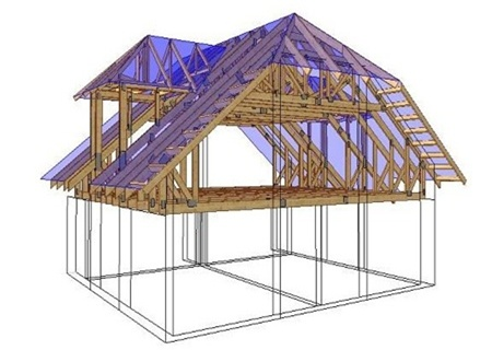 Полная история строительства каркас-щитового дома