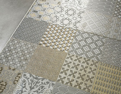 Фото: Плитка на пол для кухни и коридора