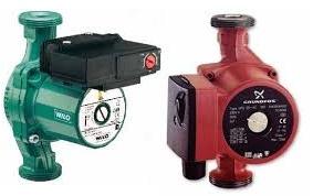 Подбираем циркуляционный насос для горячего водоснабжения и для систем отопления