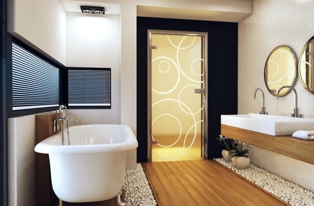Виды. Двери для ванной и туалета - какие модели лучше использовать для санузла