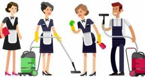 Команда уборщиц